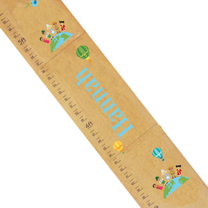 Personalized Natural Growth Chart With Small World Design