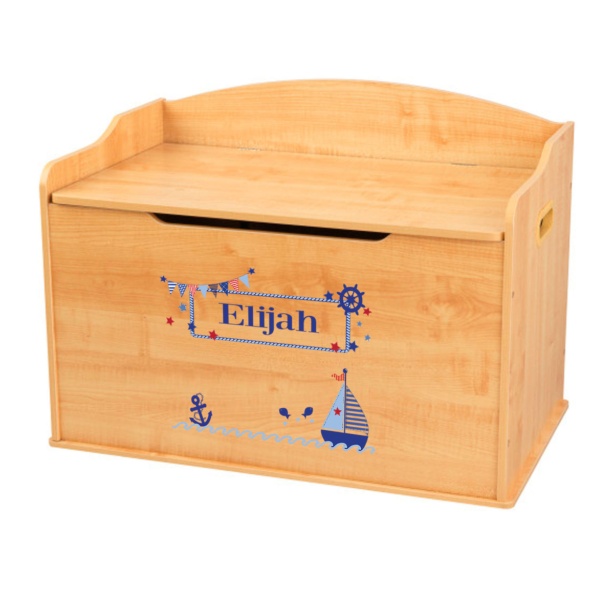 Sailboat Toy Box Cheaper Than Retail Price Buy Clothing Accessories And Lifestyle Products For Women Men
