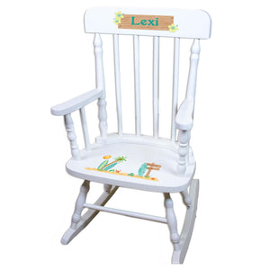 Surfs Up White Spindle rocking chairs