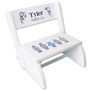 Personalized Robot Childrens Stool