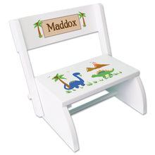 Personalized Dinosaurs Childrens Stool