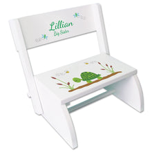 Personalized Turtle Childrens Stool