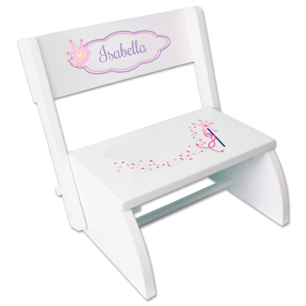Personalized Fairy Princess Childrens Stool