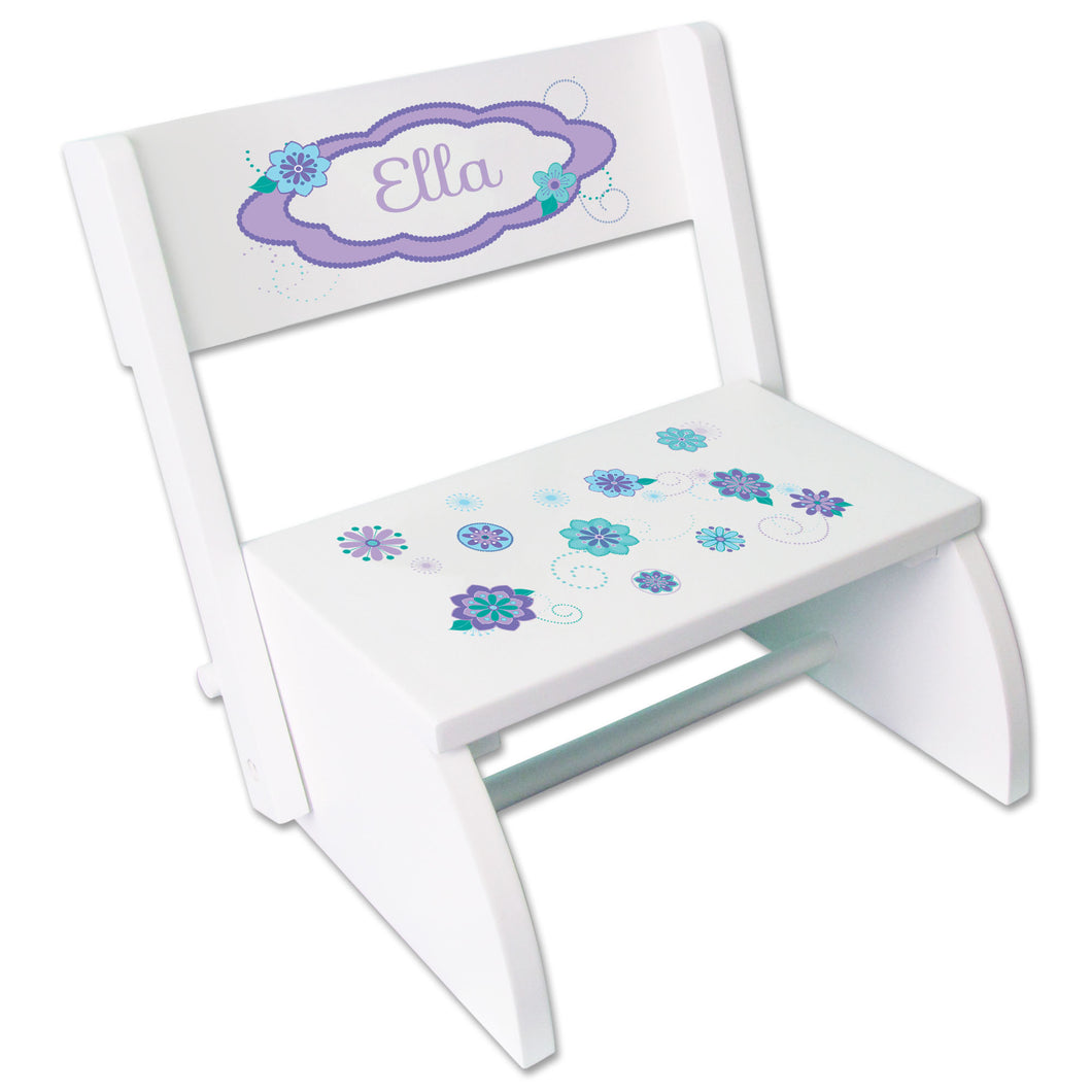 Personalized Florascope Childrens Stool