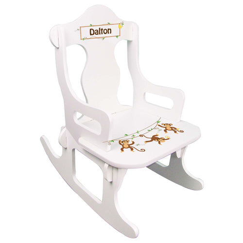 Boy's Monkey Puzzle Rocker