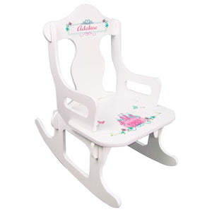 Princess Castle Puzzle Rocker