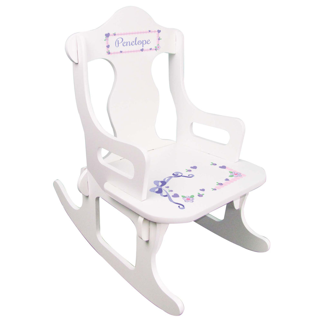 Lacey Bow Puzzle Rocker