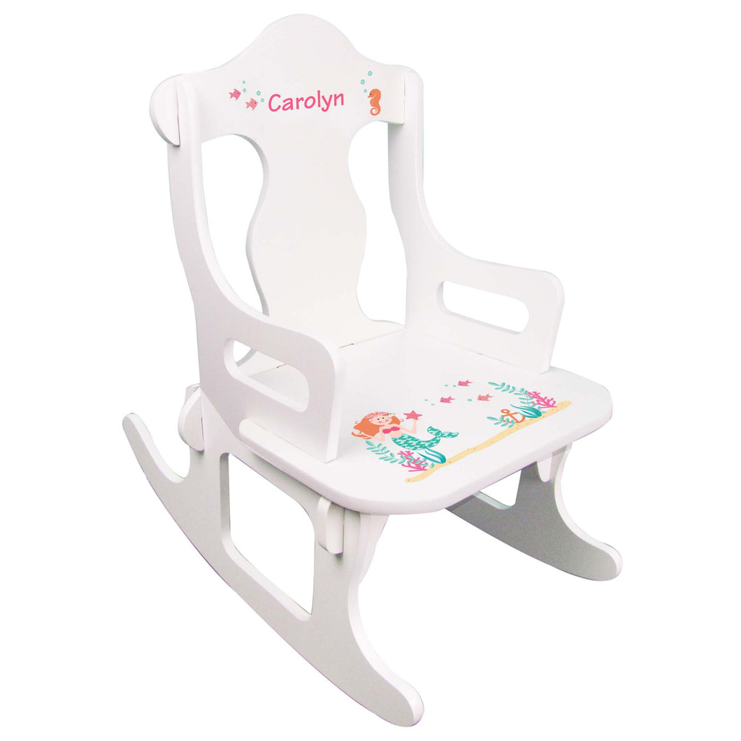 Mermaid Puzzle Rocker