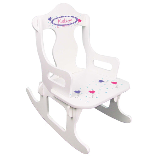 Heart Balloon Puzzle Rocker