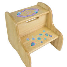 Personalized Florascope Natural Two Step Stool