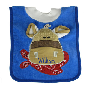 Pony Bib with Washcloth