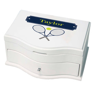 Princess Girls Jewelry Box with Tennis design