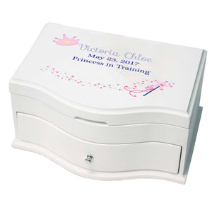 Girl's Princess Jewelry Box - Fairy Princess