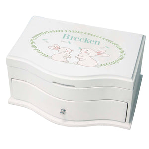 Princess Girls Jewelry Box with Classic Bunny design