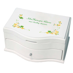 Irish Girl gift jewelry box