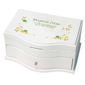 Girl's Princess Jewelry Box - Shamrock