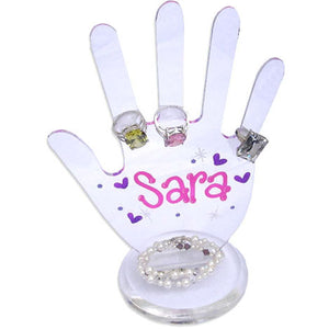 Personalized Hand Ring Holder