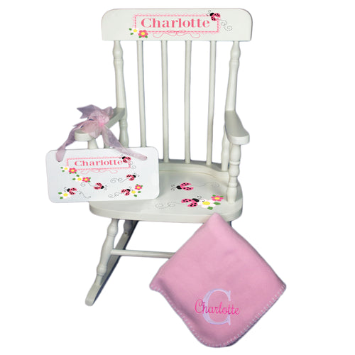 Baby Rocking Chair Gift Set for girl