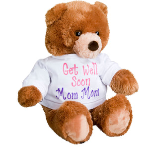 Plush Teddy Bear in Personalized T-shirt