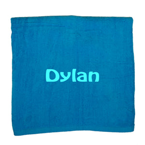 Personalized Beach Towel Turquois