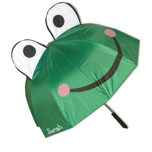 Personalized Frog Umbrella