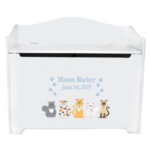 Cat Toys Toy Box