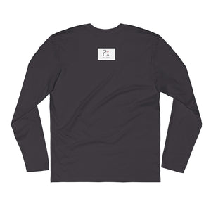 Mens Long Sleeve Fitted Crew