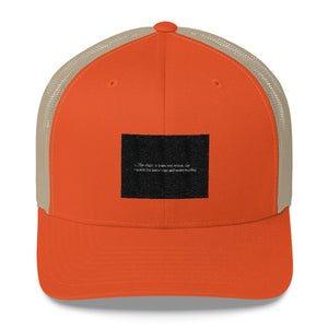 Think Motto Trucker Cap