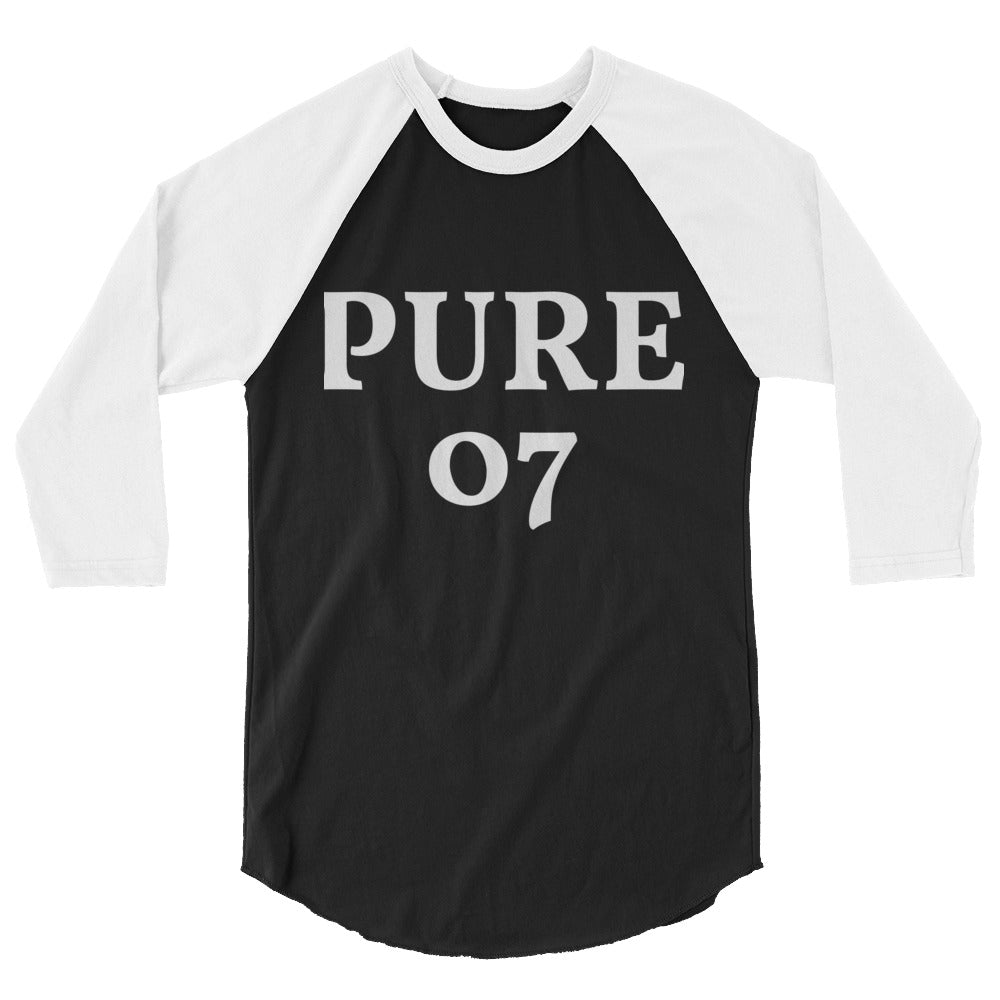 Mens 3/4 sleeve raglan shirt