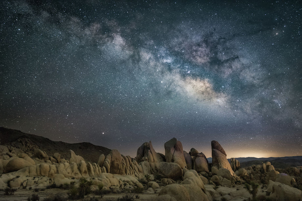 Milky Way And The Rocks