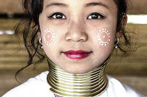 Kayan tribe from Burma (Long Neck) - #3-color