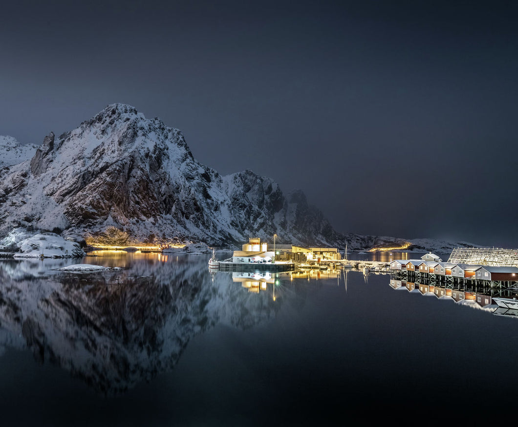 Midnight in Lofoten - Svolvær, Norway