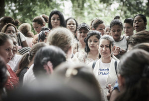 Valerie*, a senior MS13 member speaks with over a hundred women who are denied access to their partners in prison.