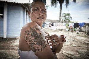 Malgda Corales started her training into the M18 gang at the age of 12, she was initiated at 13.  Initiation