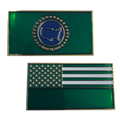 Border Patrol Flag Challenge Coin CBP BP