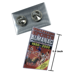 Back to the Future Grays Sports Almanac pin