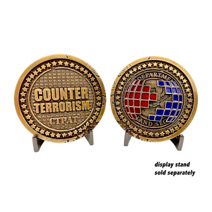 GG-003 Counter Terrorism Challenge Coins CBP C-TPAT CTPAT TRADE