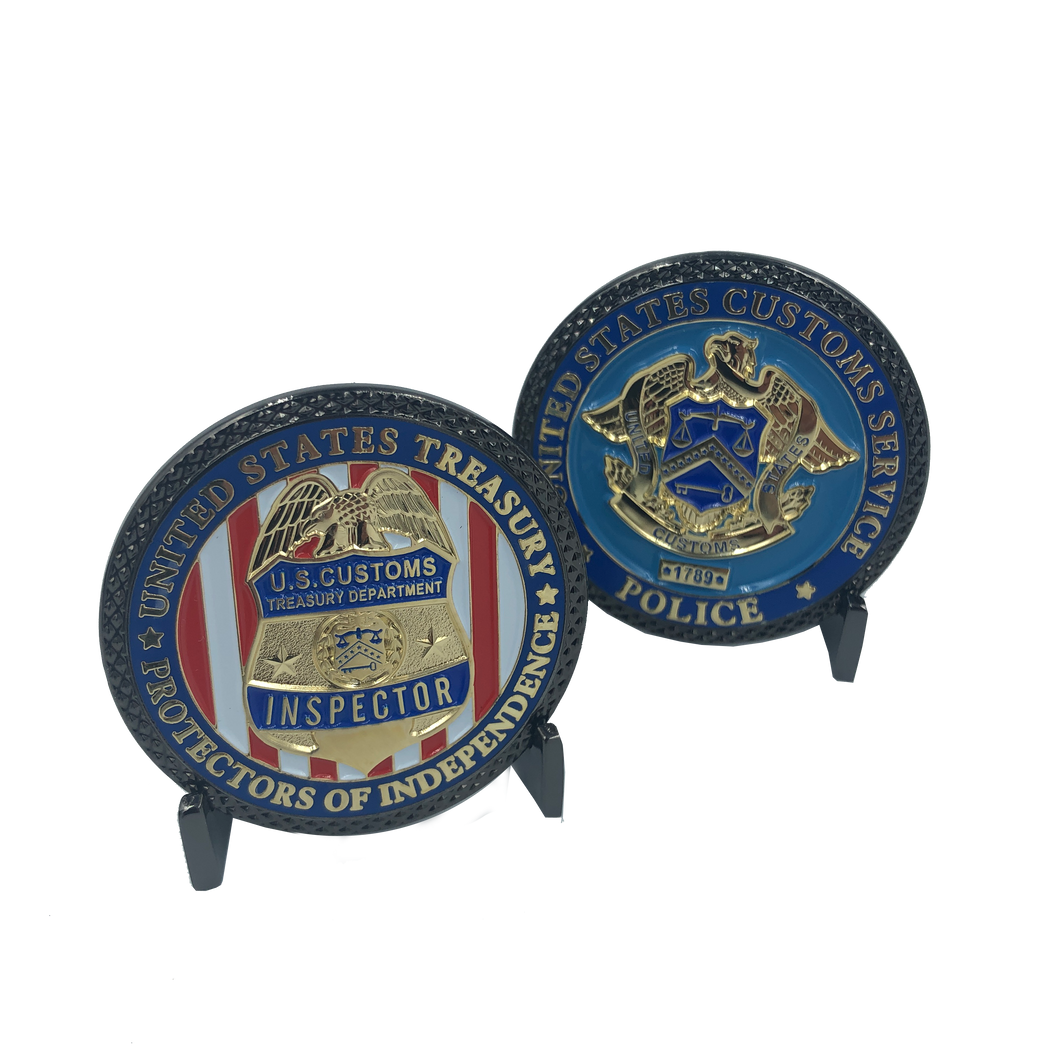 I-022 230th Anniversary Legacy U.S. Customs Inspector Treasury Challenge Coin 1789 - 2019 (not CBP)