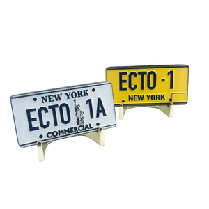 Ghostbusters 35th Anniversary ECTO License Plate Challenge Coin