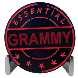 CL8-17 Essential Workers Grammy Challenge Coin perfect for Mother's Day or Grandma's Birthday