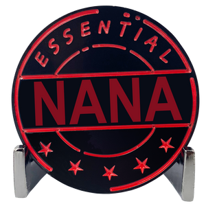 CL8-18 Essential Workers Nana Challenge Coin perfect for Mother's Day or Nonna's Birthday