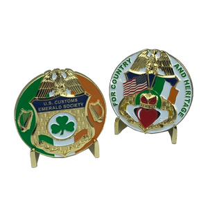 CBP Customs Emerald Society Challenge Coins