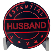 CL8-12 Essential Workers Husband Challenge Coin perfect for Father's Day or Hubby's Birthday