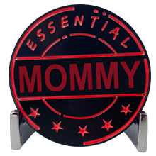 CL8-16 Essential Workers Mommy Challenge Coin perfect for Mother's Day or Mom's Birthday