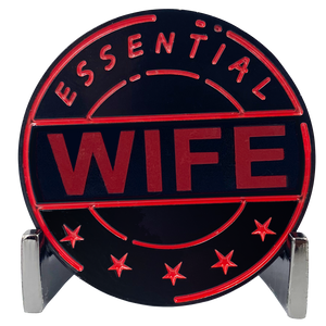 CL8-15 Essential Workers Wife Challenge Coin perfect for Mother's Day or Wifey's Birthday