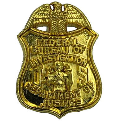 L-18 FBI lapel pin