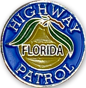 CL-017 FHP Florida Highway Patrol Police Lapel Pin