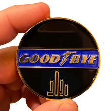 DL8-05 GOOD BYE 2020 Challenge Coin It was not a GoodYear Sorry We're Closed until 2021