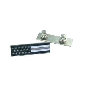 Thin Gray Line U.S. Flag Commendation Bar Pin Correction Correctional