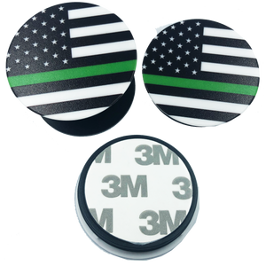 Thin Green Line pop open cell phone holder iphone android ipad smart phone Army Security Sheriff Border Patrol